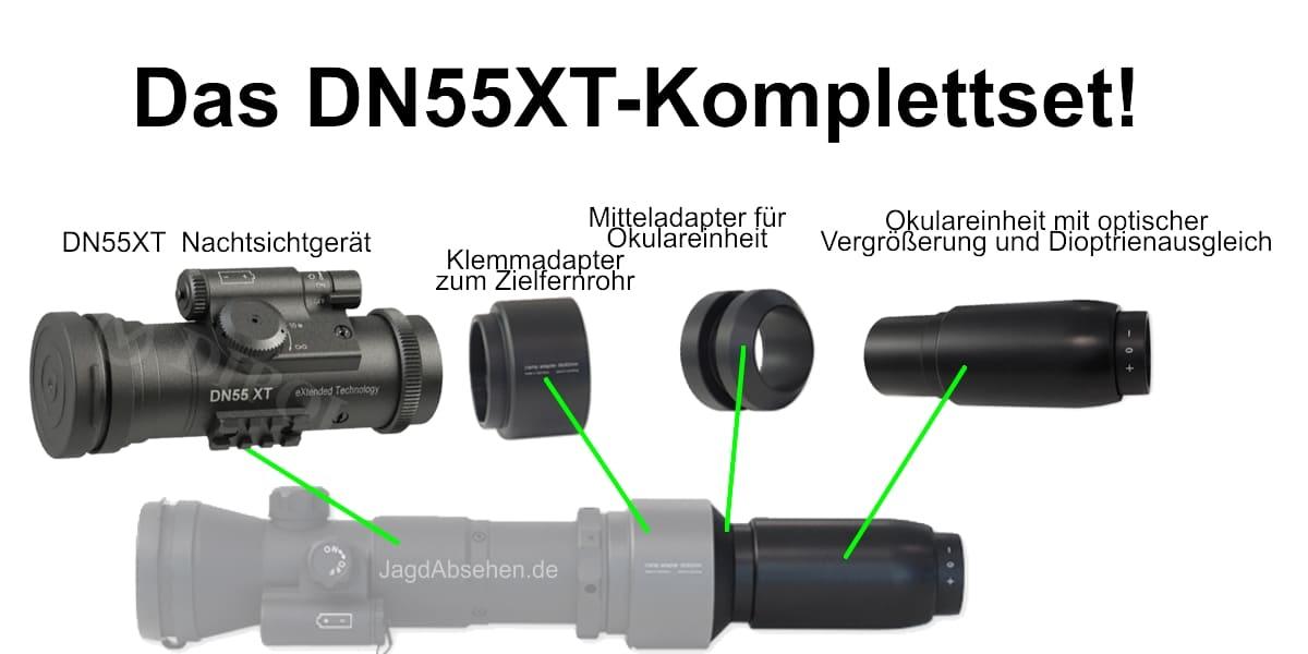 Restlichtverstärker Set DN55XT Plus-Set
