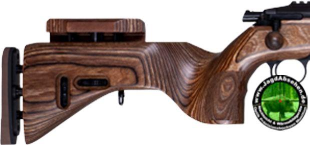 Schaftmaterial fein ausgearbeitetes Schichtholz mit einstellbarem Schaft